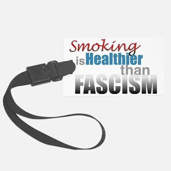 Smoking Fascism Luggage Tag