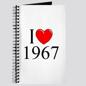 """""""I Love 1967"""" Journal"""
