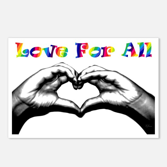 Love For All Postcards (Package of 8)