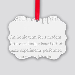 Tech Support Definition Picture Ornament
