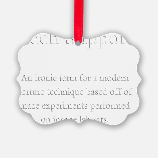 Tech Support Definition Ornament