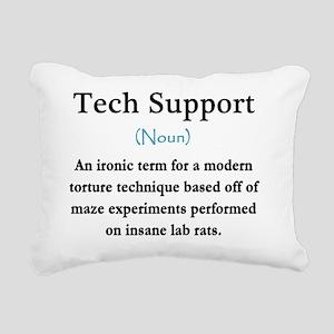 Tech Support Definition Rectangular Canvas Pillow