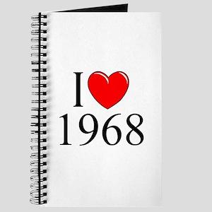 """""""I Love 1968"""" Journal"""