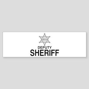 Deputy Sheriff Deputy Sheriff Bumper Sticker