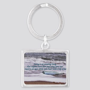Clarity11x17 Landscape Keychain