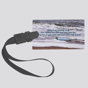 Clarity11x17 Large Luggage Tag