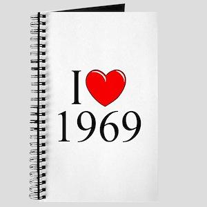 """""""I Love 1969"""" Journal"""