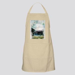 Watercolor Inspirational Poster: The best wa Apron