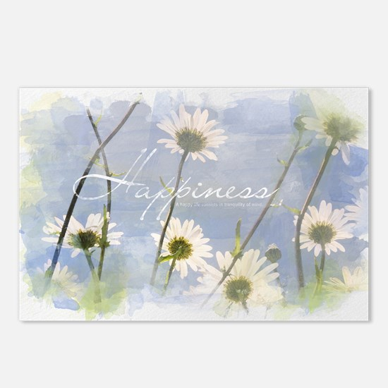 Watercolor Inspirational  Postcards (Package of 8)