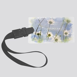 Watercolor Inspirational Poster: Large Luggage Tag