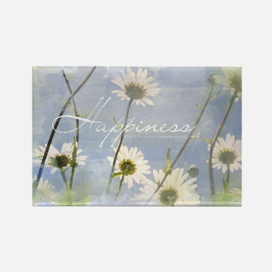 Watercolor Inspirational Poster:  Rectangle Magnet