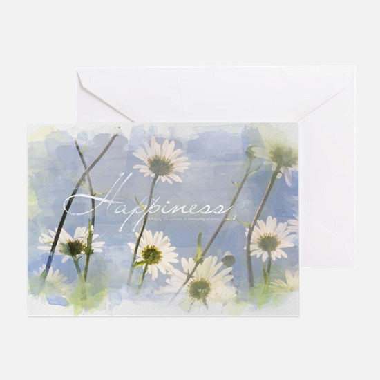 Watercolor Inspirational Poster: A H Greeting Card