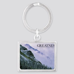 Inspirational Poster: When we e Landscape Keychain