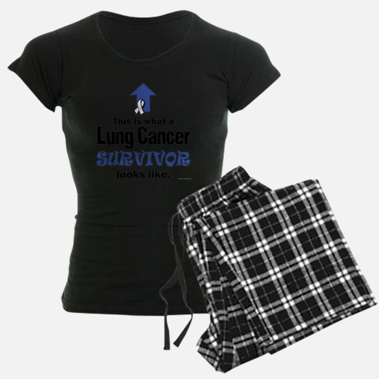 Lung Cancer Survivor (lt) Pajamas