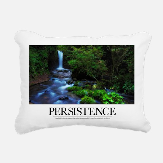 Inspirational Poster: It Rectangular Canvas Pillow
