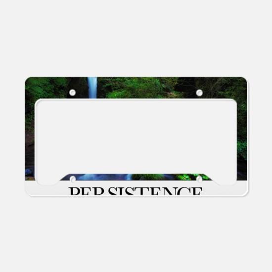 Inspirational Poster: It is a License Plate Holder