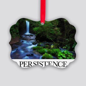 Inspirational Poster: It is attit Picture Ornament