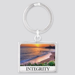 Inspirational Poster: In matter Landscape Keychain