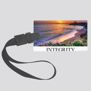 Inspirational Poster: In matters Large Luggage Tag