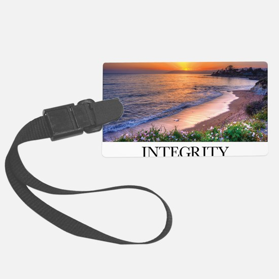 Inspirational Poster: In matters Luggage Tag
