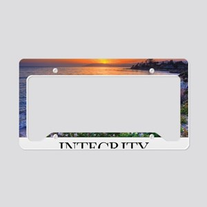 Inspirational Poster: In matt License Plate Holder