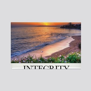 Inspirational Poster: In matters  Rectangle Magnet