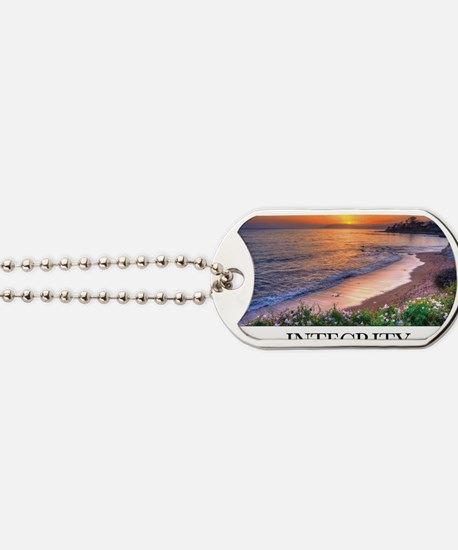 Inspirational Poster: In matters of style Dog Tags