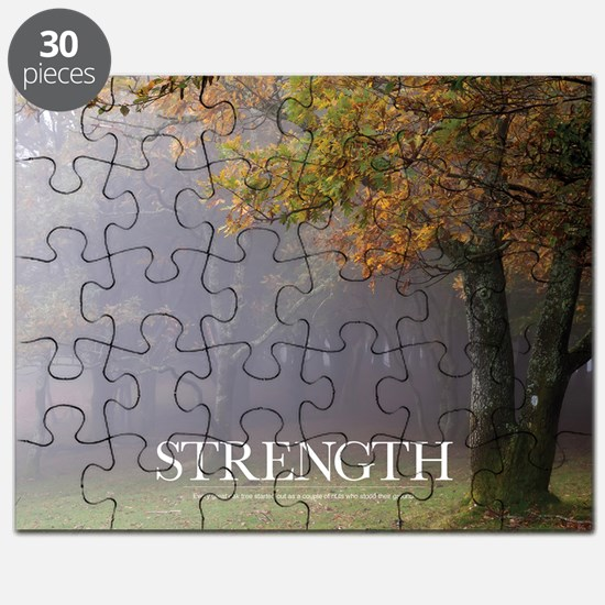 Inspirational Poster: Every great oak tree  Puzzle