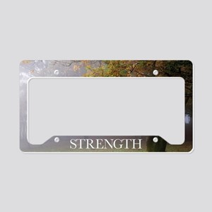 Inspirational Poster: Every g License Plate Holder