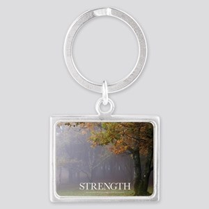 Inspirational Poster: Every gre Landscape Keychain