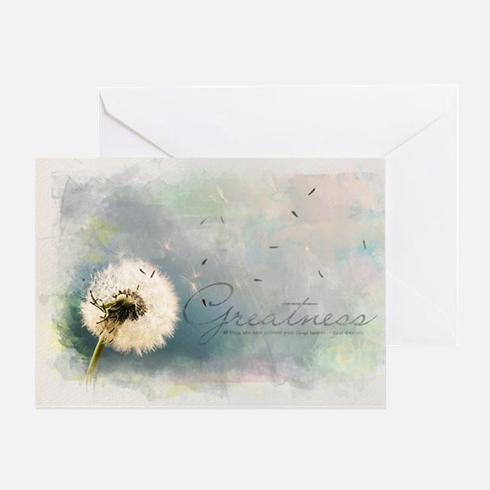 Inspirational Poster: All those who  Greeting Card