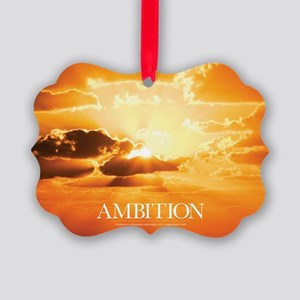 Inspirational Poster: A Journey o Picture Ornament