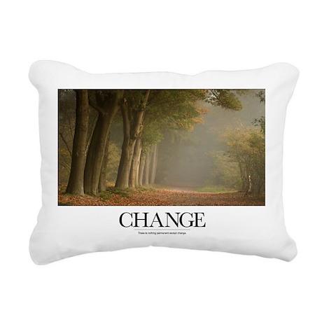 Inspirational Motivation Rectangular Canvas Pillow