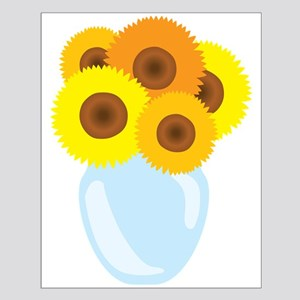 Sunflower Vase Posters