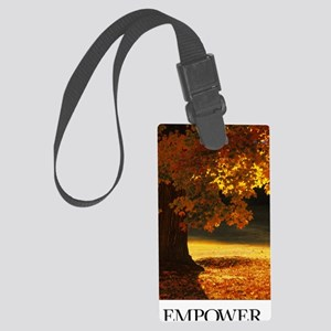 Inspirational Motivational Poste Large Luggage Tag