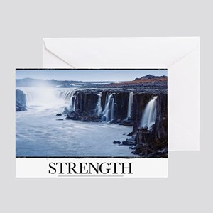 Inspirational Motivational Poster: I Greeting Card