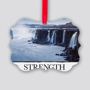 Inspirational Motivational Poster Picture Ornament