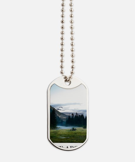 Inspirational Motivational Poster: It is  Dog Tags