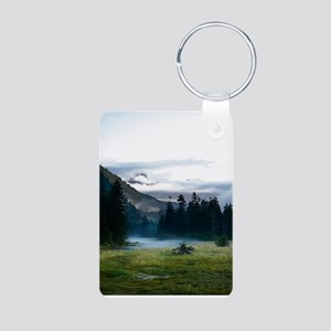Inspirational Motivational Aluminum Photo Keychain