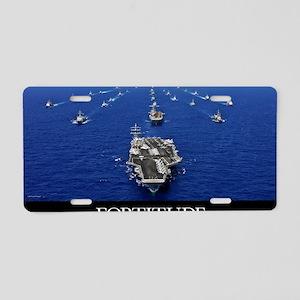 Motivational Poster: USS Ro Aluminum License Plate