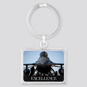 Motivational Poster: Air Force  Landscape Keychain