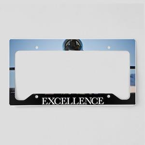 Motivational Poster: Air Forc License Plate Holder