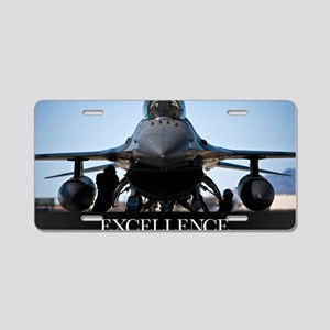 Motivational Poster: Air Fo Aluminum License Plate