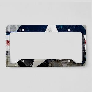 Motivational Grunge Poster: R License Plate Holder