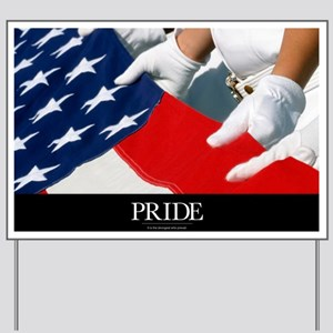 Military Poster: Only our individual fai Yard Sign