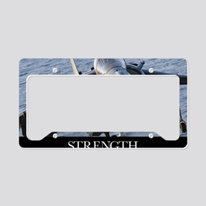 Military Poster: Close-up vie License Plate Holder