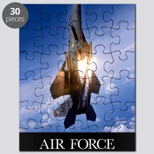 Military Poster: An F-15E Strike Eagle pops Puzzle