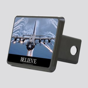 Military Poster: An AC-130 Rectangular Hitch Cover