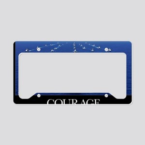 Military Poster: Aircraft car License Plate Holder