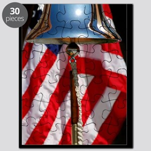 Patriotic Poster: A ceremonial ships bell d Puzzle